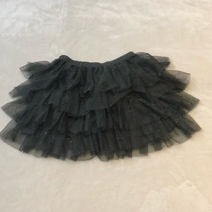 Abercrombie kids girls sparkle skirt